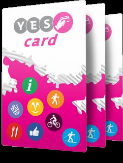 Získej s námi kartu plnou výhod - YES Card