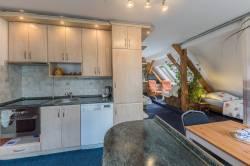 Pokoj č. 5 - rodinný apartmán s kuchyňským koutem