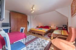 Pokoj č. 3 - třílůžkový pokoj s kuchyňským koutem
